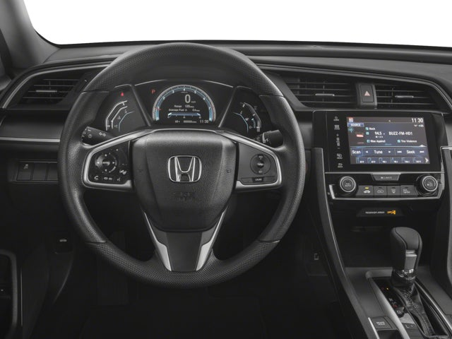 2018 Honda Civic Sedan EX In Raleigh, NC   Leith Honda Raleigh