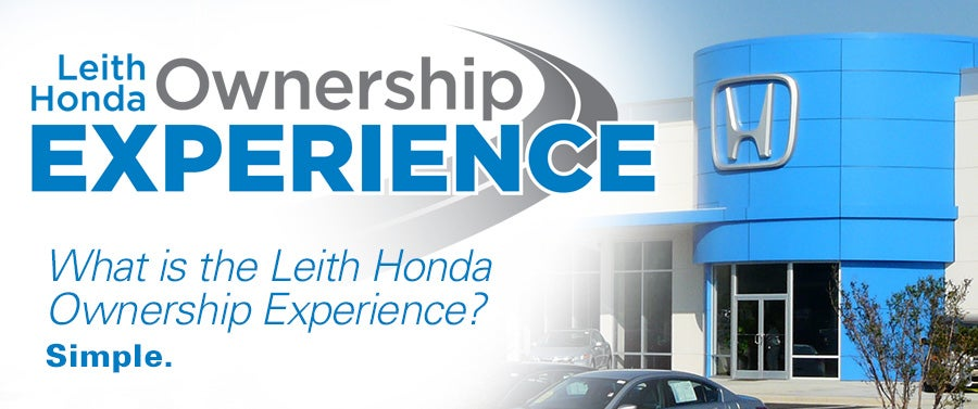 Leith Honda Ownership Experience - No Cost Oil Changes