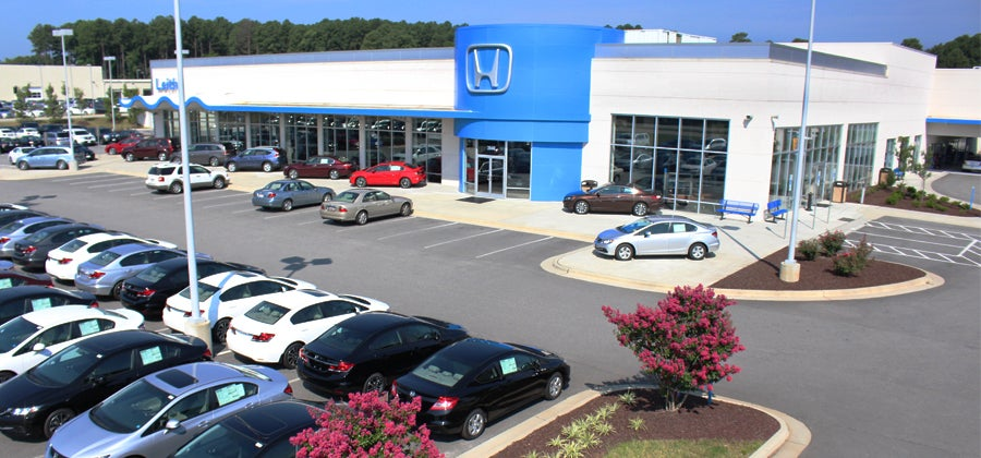 Leith Honda Dealership In Raleigh North Carolina